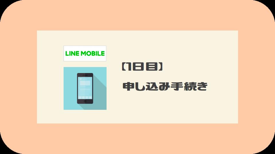 LINEモバイルへのMNP乗り換え手順:1日目