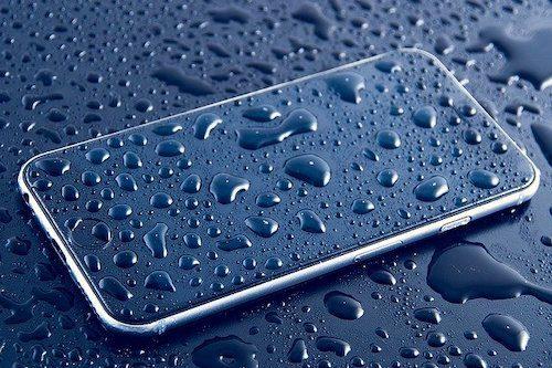 スマートフォン防水機能